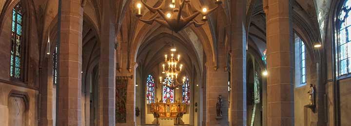 Besuch der Kirche St. Johann Baptist in Bad Honnef